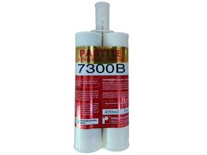 PARTITE 7300B高强度强力粘不锈钢铁铝合金镀锌钢 陶瓷石材胶密封补漏防水防油抗震防腐蚀400ml