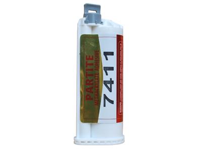 PARTITE 7411代替焊接粘不锈钢铝镀锌钢陶瓷石材透明结构胶防水防油抗震防腐蚀50ML