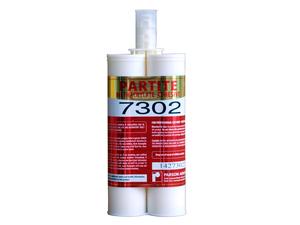 PARTITE 7302 代替焊接粘铝铁不锈钢塑料陶瓷石材快速结构胶防水防油抗震防腐蚀400ml