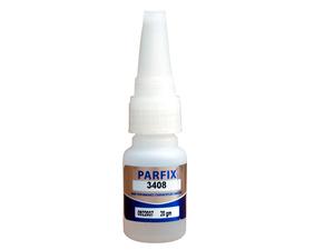 PARFIX 3408 无白化瞬干胶粘铁不锈钢 铝陶瓷 塑料橡胶快干胶 20G